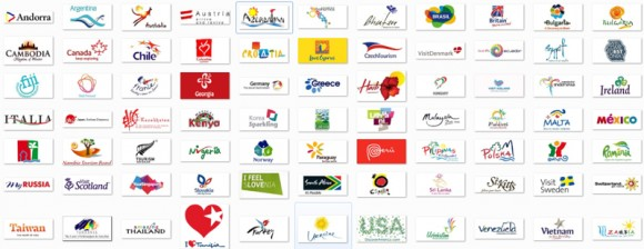 New logo of Bulgaria. And 78 more tourism logo of different.