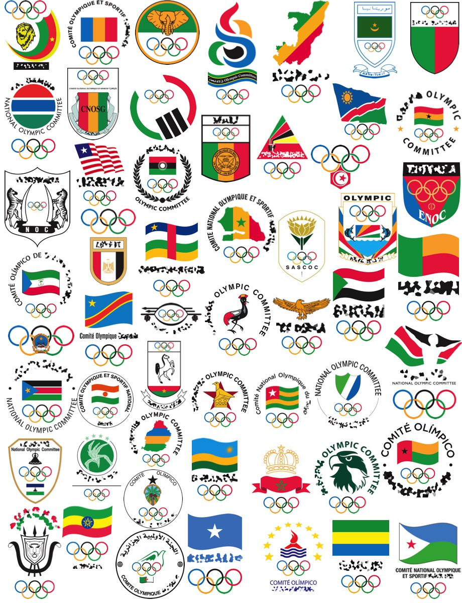 African Countries by Olympic Committee Logo Quiz.
