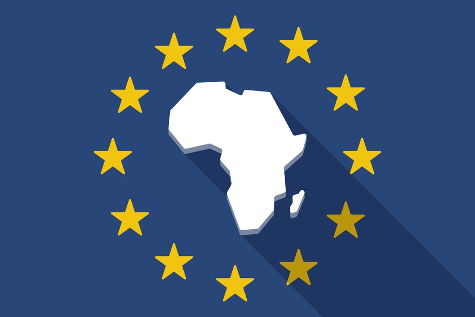 What do European countries import from Africa?.
