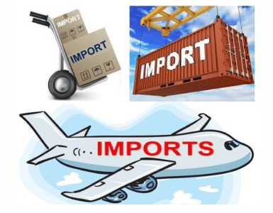 What are imports? Definition, meaning and examples.