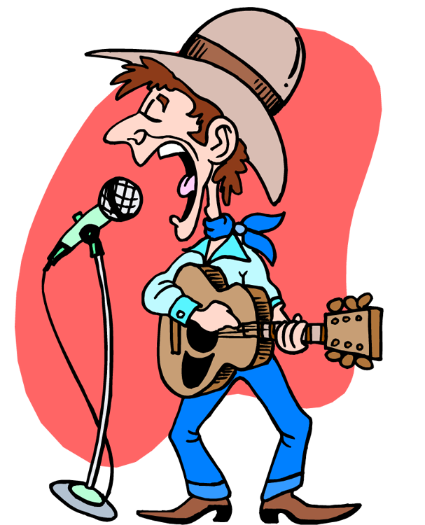 Country Music Clipart.