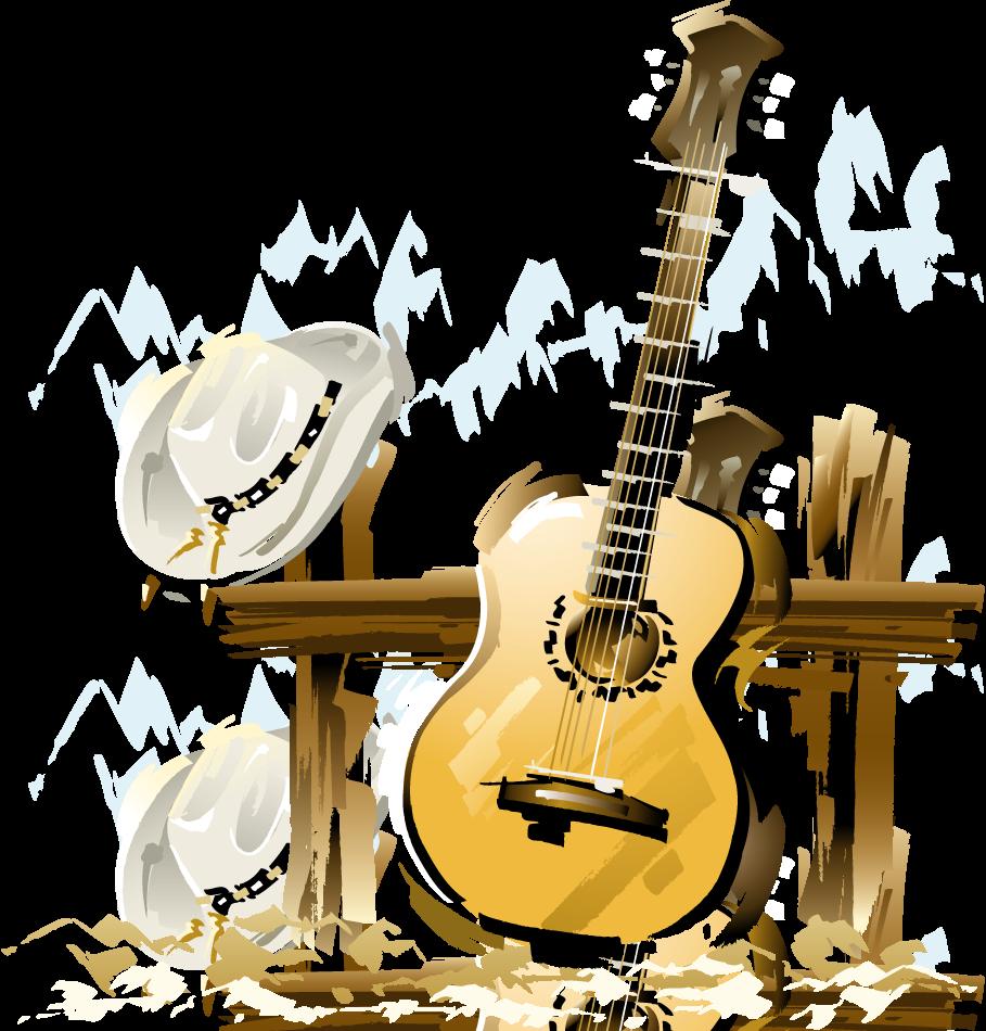 Concert clipart acoustic band, Concert acoustic band.