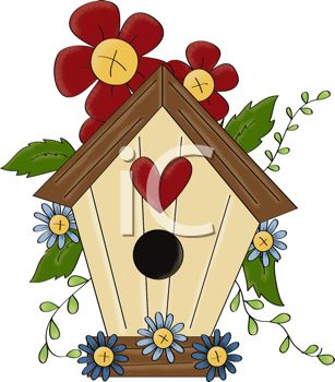 Watch more like Country Birdhouse Clip Art.