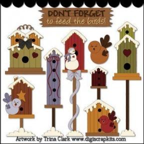 Image Of Birdhouse Clipart 3 Bird House Free Clip Art.