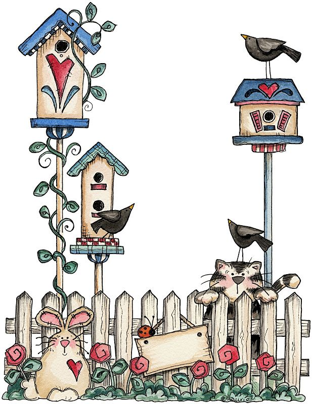 17 Best images about ART WITH BIRDHOUSES on Pinterest.