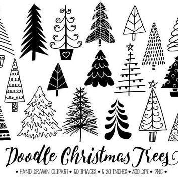 Christmas Tree Line Art Free Download Clip Art.