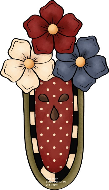 Cute Country Clipart.
