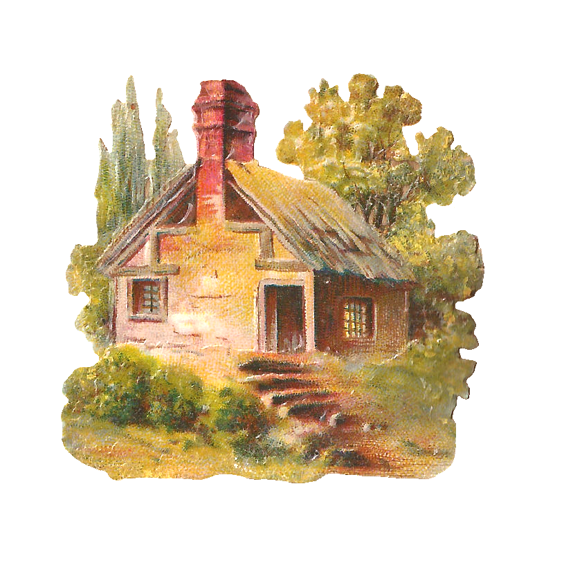 Cottage clipart country cottage, Cottage country cottage.