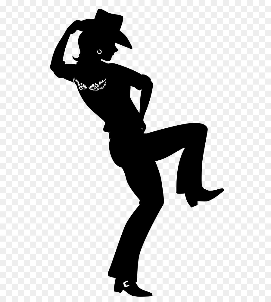 Dancer Silhouette png download.
