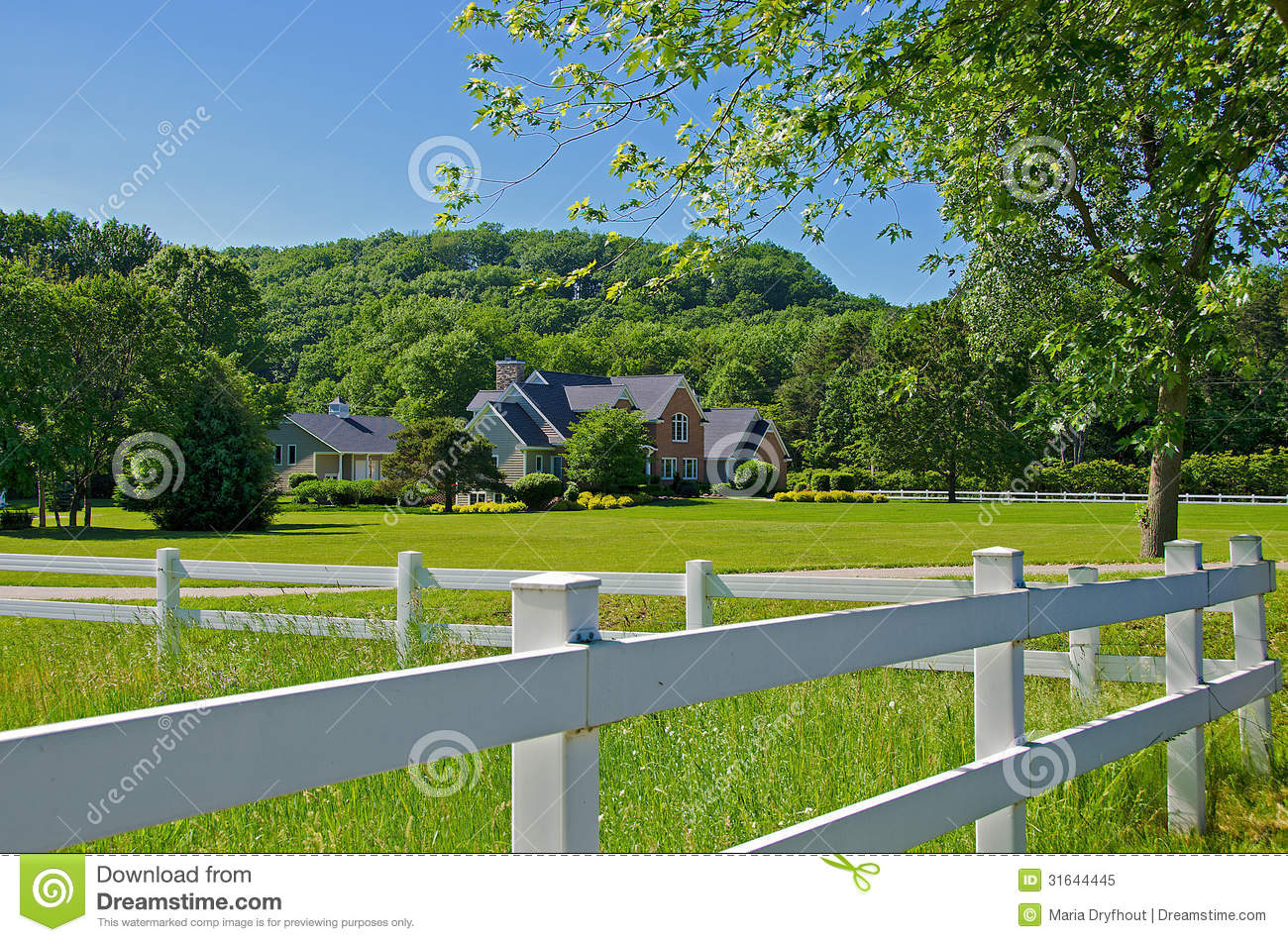 Country Estate Clipart.