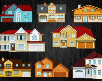 Country Estate Clipart