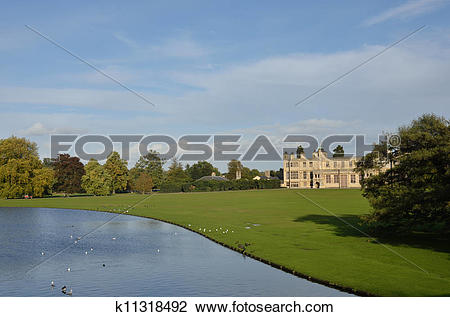 Stock Photo of English Country Estate k11318492.
