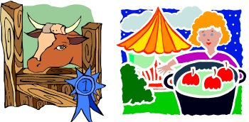 County fair food clipart.