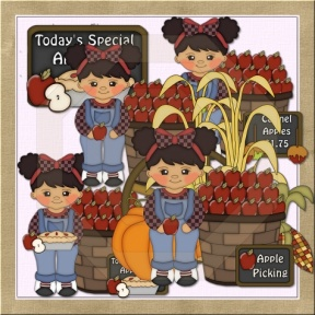 Country Harvest Day Clipart.