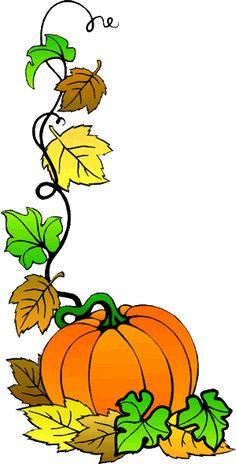 Fall Pumpkin Clip Art.