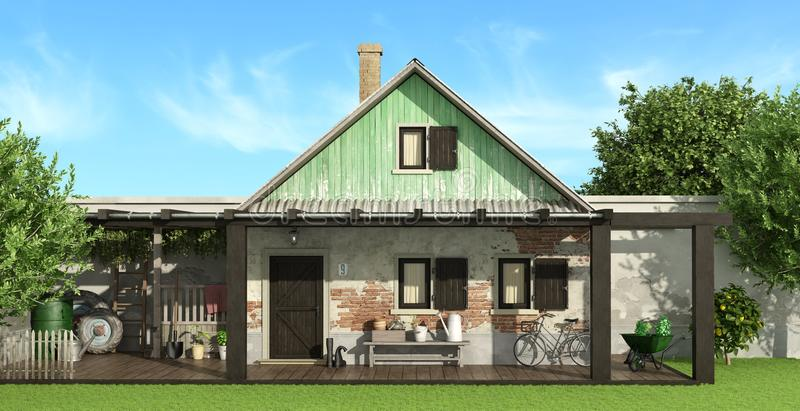 Country House Stock Illustrations.