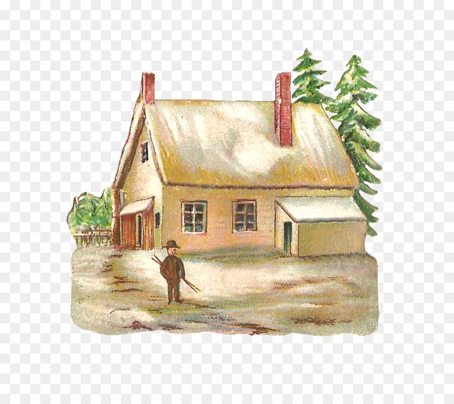 Home Cartoon clipart.