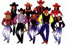 line dance logo.