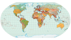 World Map With Country Clip Art, Vector World Map With Country.