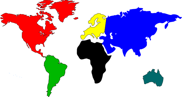 Clipart Country Maps.