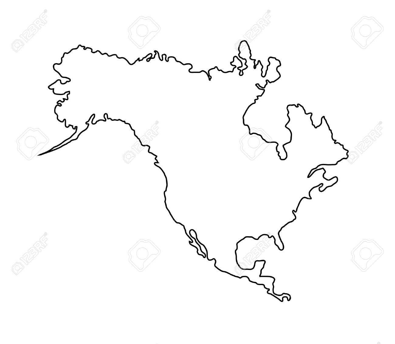 Country Map Clipart Black And White Clipground