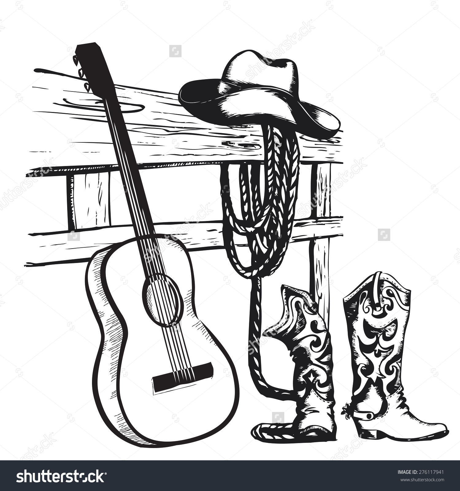 Country music clipart - Clipground