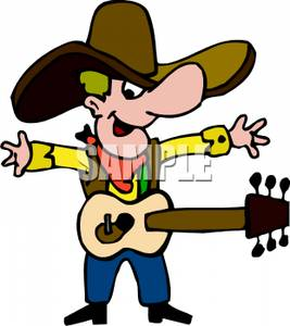 Clipart country music.