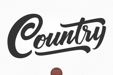 Country Music Logo photos, royalty.