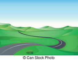 Winding country road Clipart and Stock Illustrations. 243 Winding.