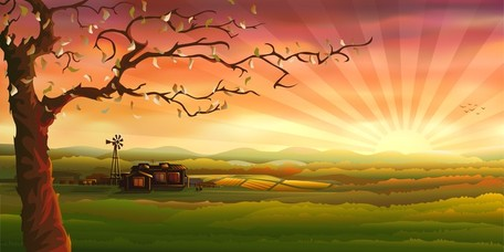 Countryside clipart.