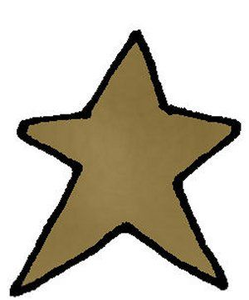 Free Country Star Clipart.