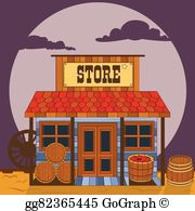Country Store Clip Art.