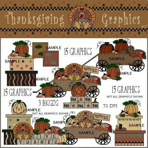 Thanksgiving Country Clipart.