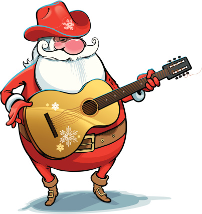 Country Christmas Clip Art.