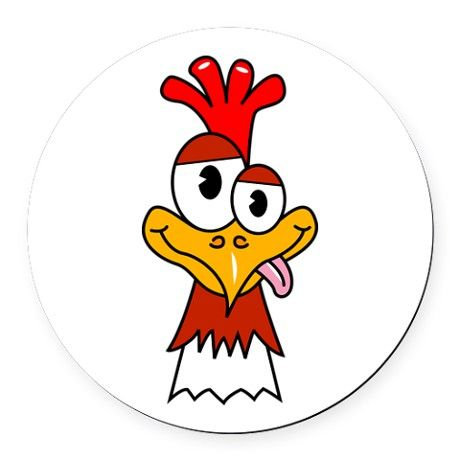 Showing post & media for Country chicken clip art cartoon.