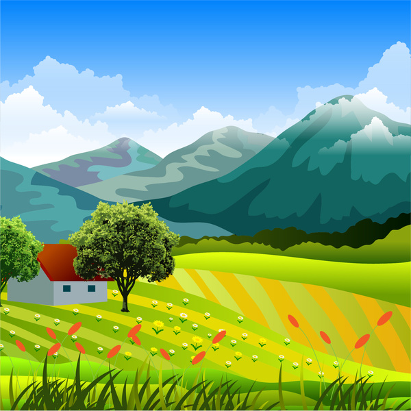Countryside clipart 8 » Clipart Station.