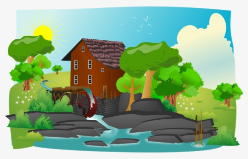 Free Landscape Clip Art with No Background.