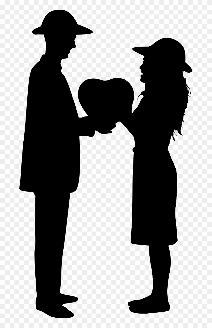 Romance Silhouette At Getdrawings.
