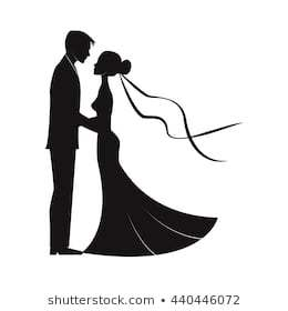 Wedding couple clipart black and white 4 » Clipart Portal.
