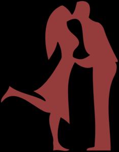 Kissing Couple Clip Art at Clker.com.