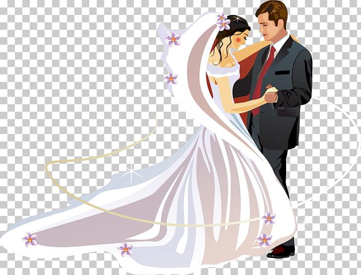 Wedding invitation Bridegroom , wedding couple, bride and.