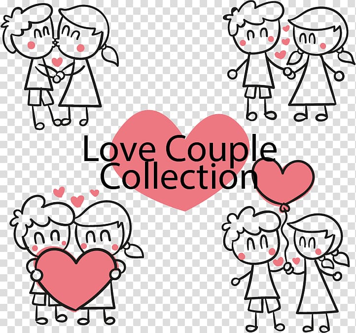 Love Couple Collection text overlay, Love couple Significant.