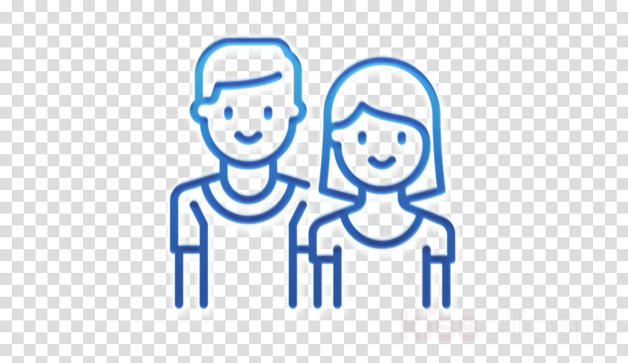 Love icon Family icon Couple icon clipart.