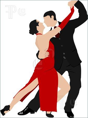 Tango Dance Clipart.