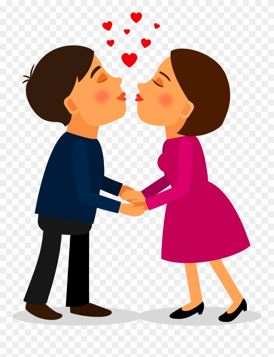 Drawing Couple Transprent Png Free Download Love.