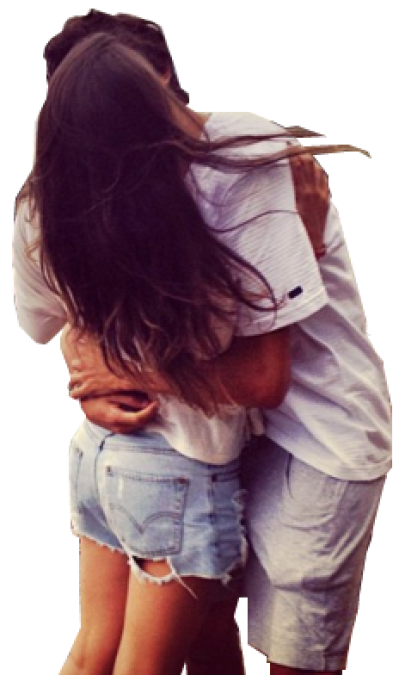 Download Free png Couple kissing PNG by bettade.