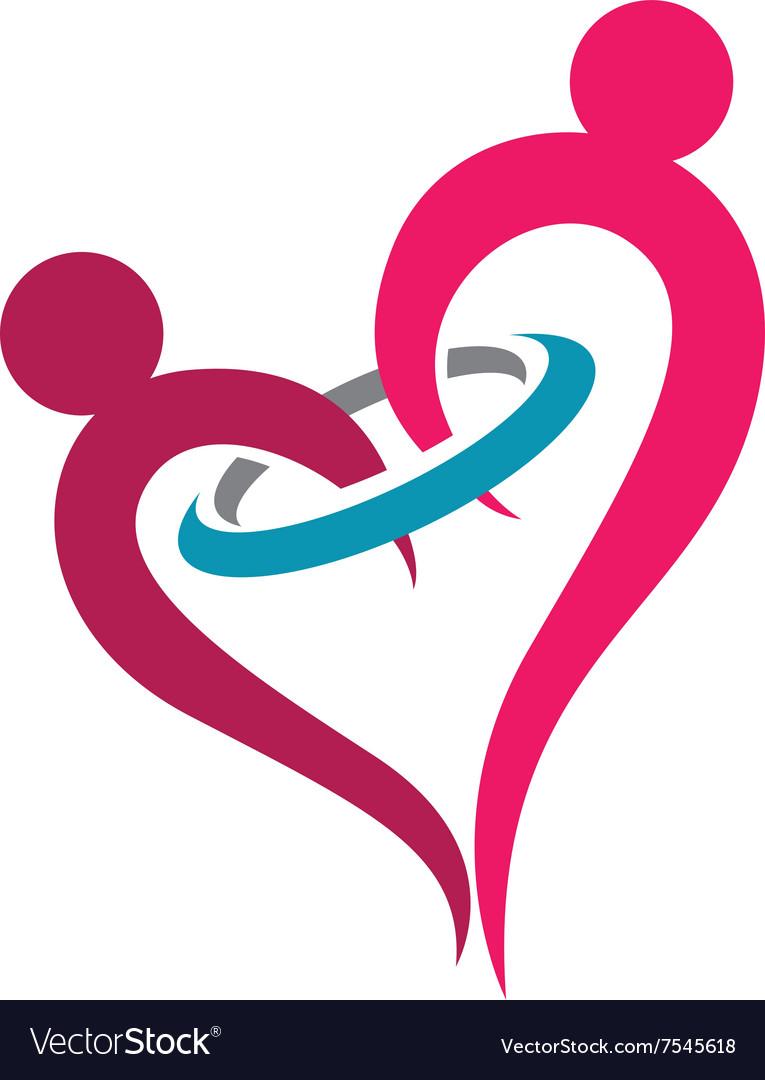 Love Couple Logo.