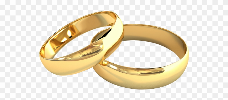 Most Popular Jewelry: Gold Wedding Rings Clipart.