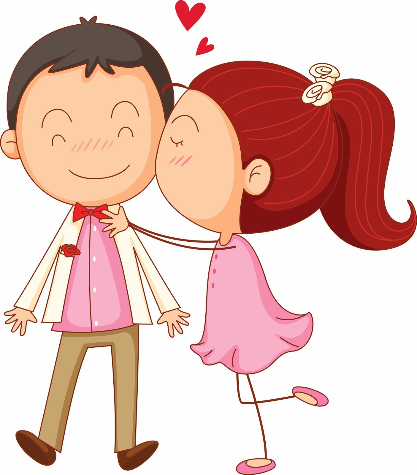 clipart couple in love.