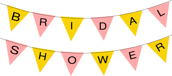 Wedding Shower Clipart.